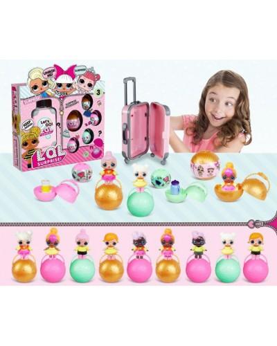 Кукла Л BB37 герои в шаре, аксесс, в коробке 33*8*30см