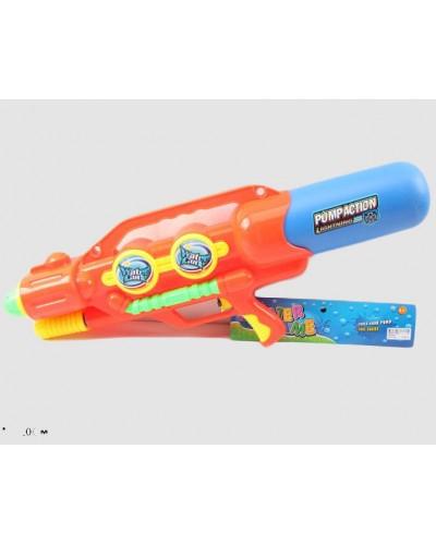 Водный пистолет 2823-28 с насосом, в пакете 67*27см