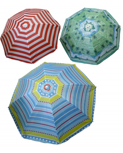 Зонт пляжный F08945 180см-высота, 220см-ширина