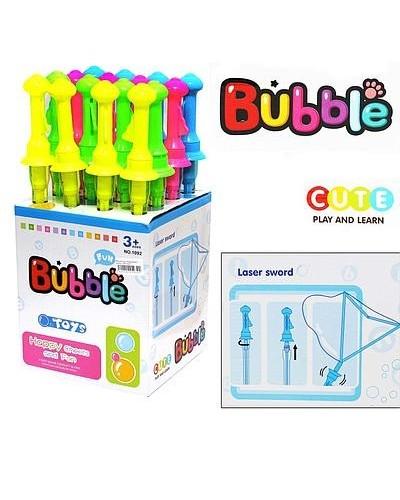 Мыльные пузыри 1092 (16шт) 4 цвета, в боксе 35 см