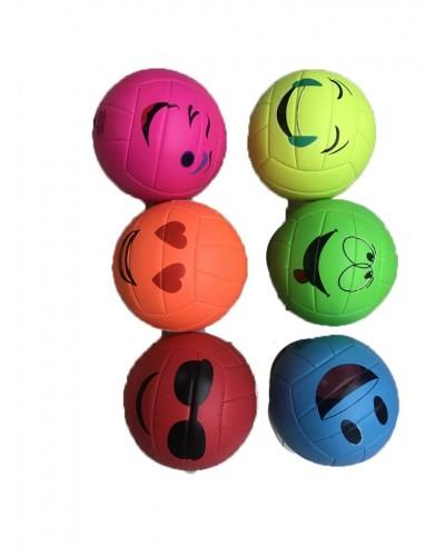 Мяч волейбол B25284 PVC 6 цветов