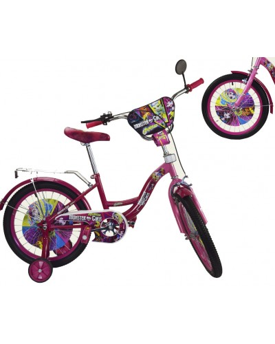 Велосипед 2-х колес 16' 181606 со звонком, зеркалом, руч.тормоз