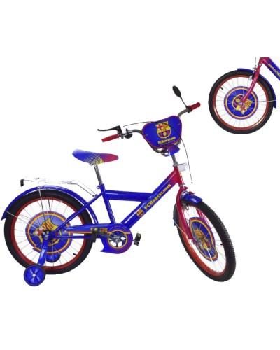 Велосипед 2-х колес 16' 181608 со звонком, зеркалом, руч.тормоз