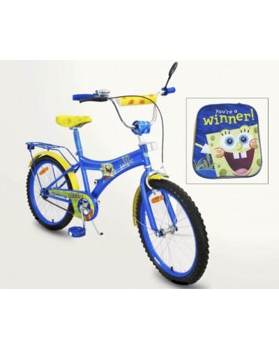 Велосипед 2-х колес 20' 152030 со звонком, зеркалом, руч.тормоз