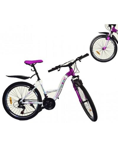 Велосипед 2-х колес 24'' 181724-G  без доп.колес