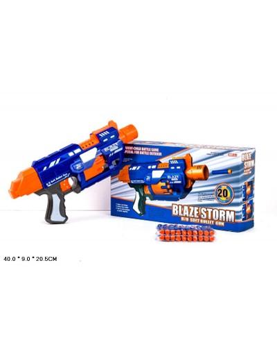 Бластер 7033 стреляет поролон. снарядами, в коробке 40*9*20,5см