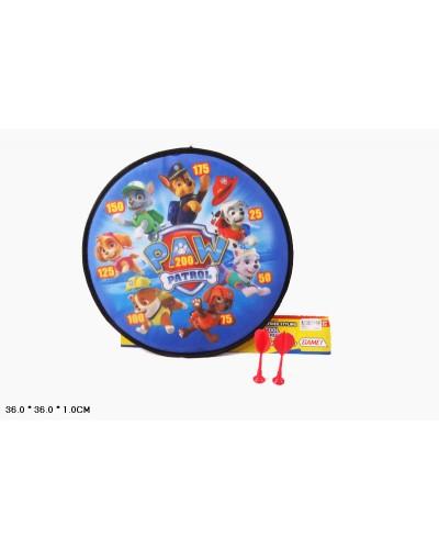 Дартс 8398-2 с дротиками,шариками 36*36см