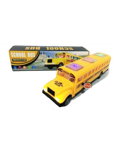 Муз. автобус  QC9855 (ZR526)  батар,свет,звук,в коробке