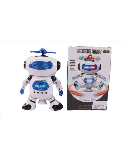 Робот батар. 99444-2 батар,свет,звук,в кор.22*14*8,5см