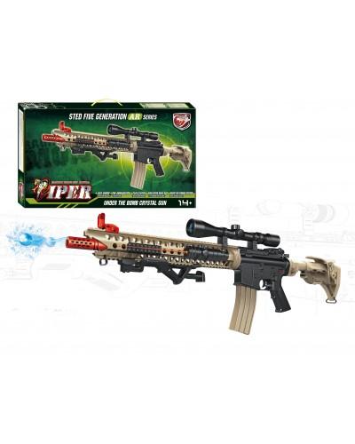Автомат SB412  гел.пули, прицел, лазер, в коробке 68,5*38,5*8,2см