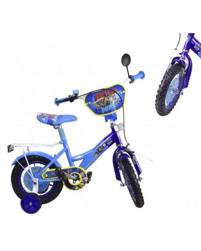 Велосипед 2-х колес 16'' 181622 (1шт) со звонком,зеркалом,руч.тормоз