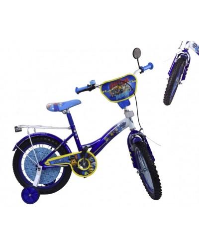 Велосипед 2-х колес 18'' 181823(1шт) со звонком,зеркалом,руч.тормоз