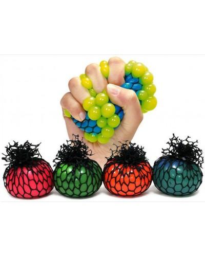 Мяч лизун YW0201 (24уп по 24шт) в сетке, 5см
