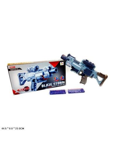 Бластер ZC7079 стреляет поролон.снарядами, в коробке 44,5*8*23см