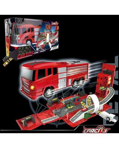Трек A8501 Пожарная машина, в кор.