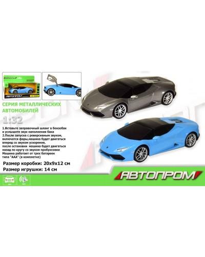 "Машина метал-пластик 7602 ""АВТОПРОМ"" 1:32 Lamborghini Huracan LP610-4 Spyder, свет, звук, в кор"
