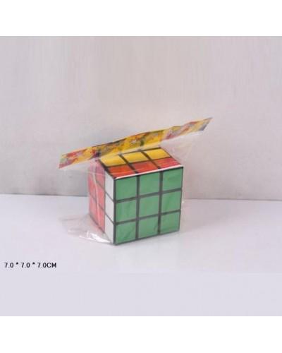 Кубик логика 108 в пакете 7*7*7см