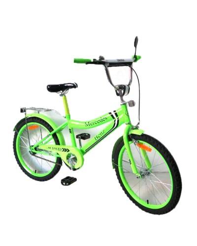 Велосипед 2-х колес 18'' 171839  со звонком, зеркалом, руч.тормоз