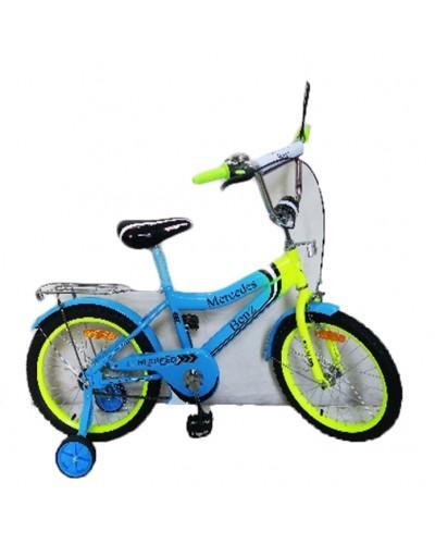 Велосипед 2-х колес 20'' 172038 со звонком, зеркалом, руч.тормоз, без доп.колес