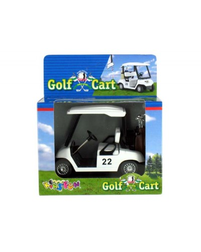 "Машина металл ""KINSMART"" KS5105W ""Golf Cart"", в коробке"