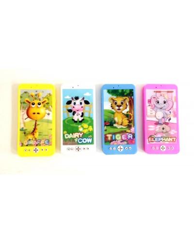 Моб.телефон 687A батар., 4 вида микс, в пакете 16*8*2см