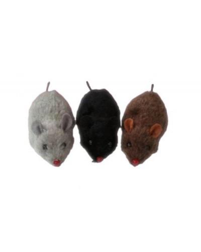 Иннерционные  мыши 651 3 цвета, в пакете