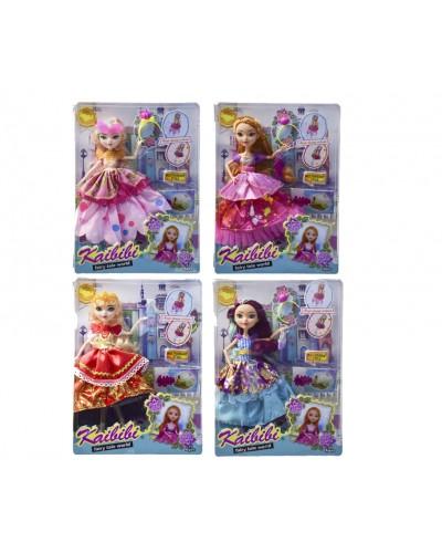 """Кукла """"EAH"""" BLD123/-1 4 вида, шарнирная,платье-трансформер 2в1,кор. 23*31,5*6см"""