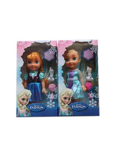 Кукла  336   2 вида микс ,  в кор38,2*20,2*10 см