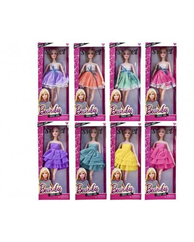 "Кукла типа ""Барби"" JND-1408/10  8 видов, шарнирная, в кор. 13*5*32см"