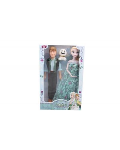 "Кукла ""F""""Жених и невеста"" YF1136GB/YF1137GB снеговик, в кор. 31*20**5см"
