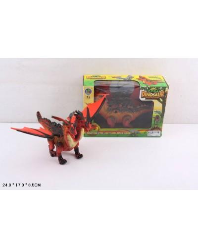 Животные 788-2 батар, дракон, звук, в коробке 24*17*8,5 см
