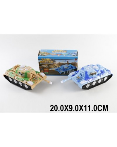 Танк батар SY618  2 цвета, в коробке 20*9*11см