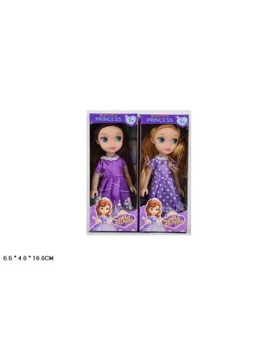 "Кукла ""S"" ZHS603A  2 вида, в коробке 6,5*4*16см"