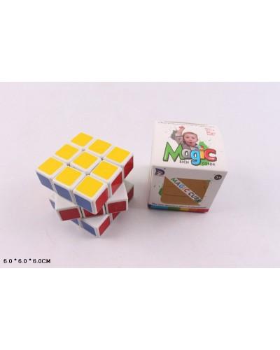 Кубик логика 8800-21 3*3, 6 см в коробке