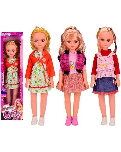 Кукла большая 36056B 3 вида, РУС ЧИП, говорит фразы, кукла 49см