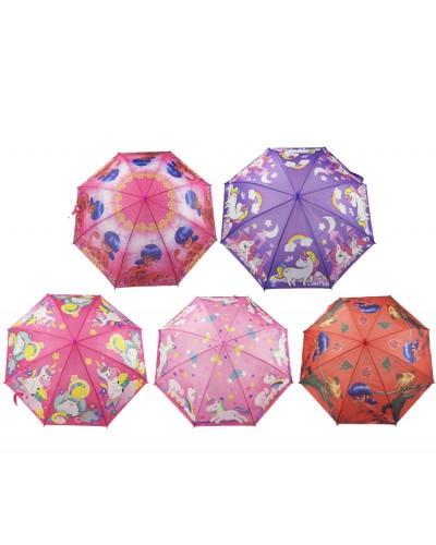 Зонт CEL-259/60  3 вида,  в пакете