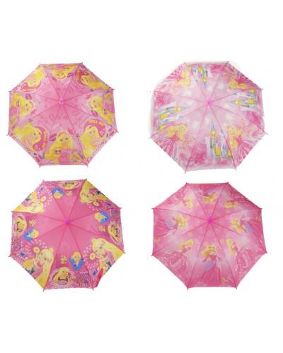 Зонт CEL-273  , 4 вида, в пакете 44 см