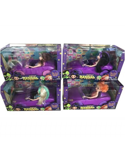 "Кукла ""СП"" DS-010B  4 вида, с машинов, в коробке"