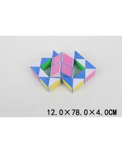Логика-змейка 6600-6  в пакете, 12*7,8*4 см