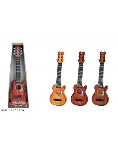 Гитара 890-B10  3 цвета микс, в кор. 50,5*16,5*6см