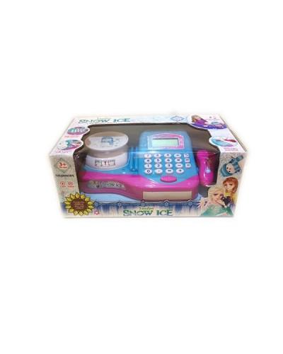 """Кассовый аппарат """"F"""" 66063BX  свет-звук, сканер, калькулятор, весы в  кор.32*17,5*13,5см"""