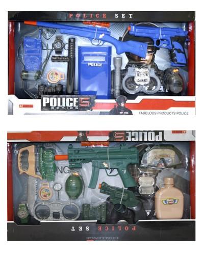 Полицейский набор 272-1/273-1 2 в кор.61*36*5см
