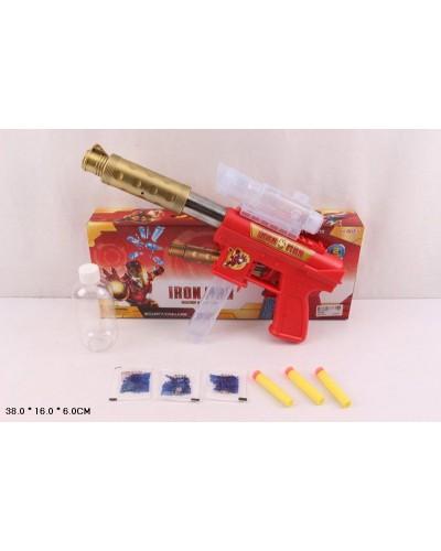 Автомат A99910/9/8  60шт/2   с пороллон и гел. снаряд., 3 вида, в кор 38*16*6 см