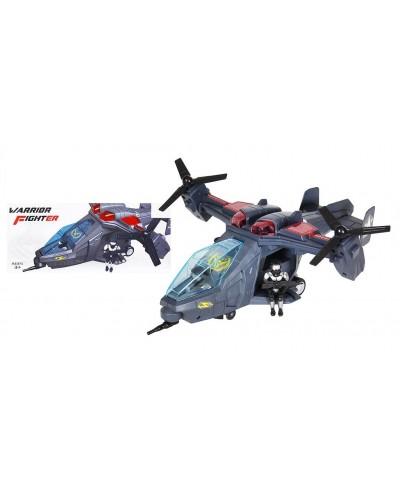 Вертолет батар 286-12  свет, звук, в кор 34*10*14см