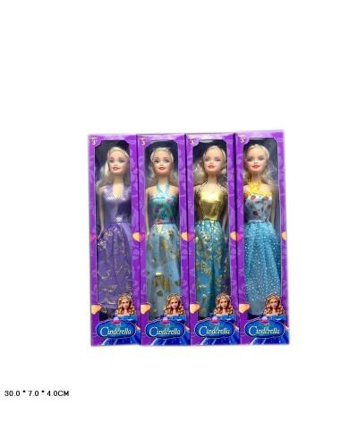 Кукла  8655S-3  4 вида, в кор.30*7*4 см