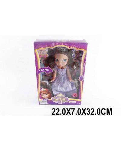 """Кукла """"S"""" 8968муз,свет, в кор.22*7*32 см"""
