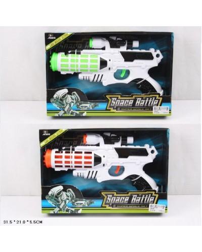 Бластер батар. 36899A/B  2 вида, в откр.коробке 31,5*21*5,5см