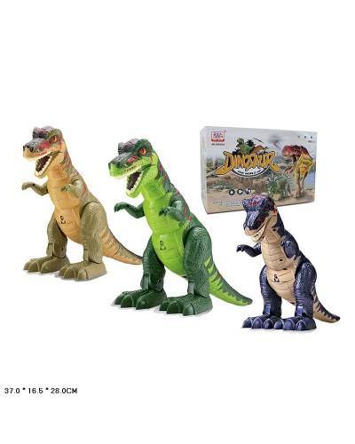 Животные WS5302B  динозавр, звук, ходит, в коробке 37*16,5*28см