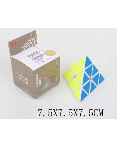 Кубик логика YJ8331 треугольный, в коробке 7,5*7,5*7,5см