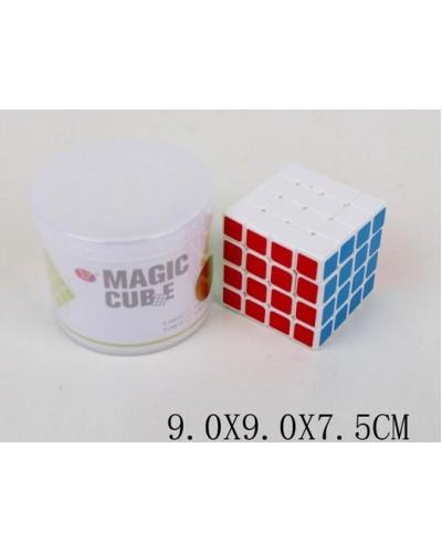 Кубик логика YJ9813 4*4, в тубусе 9*9*7,5см